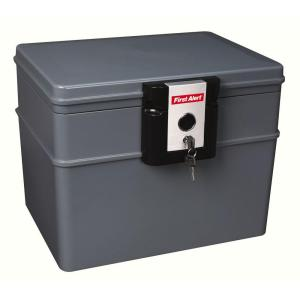 First Alert 0.62 cu. ft. Capacity and Durable Construction Safe by First Alert