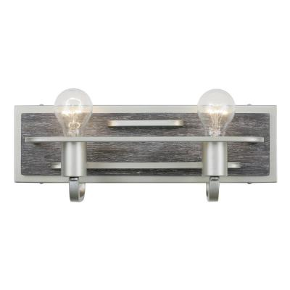 Lofty 2-Light Silverado Bath Light