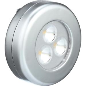 Light It! White Wireless Remote Control LED Puck Lighting