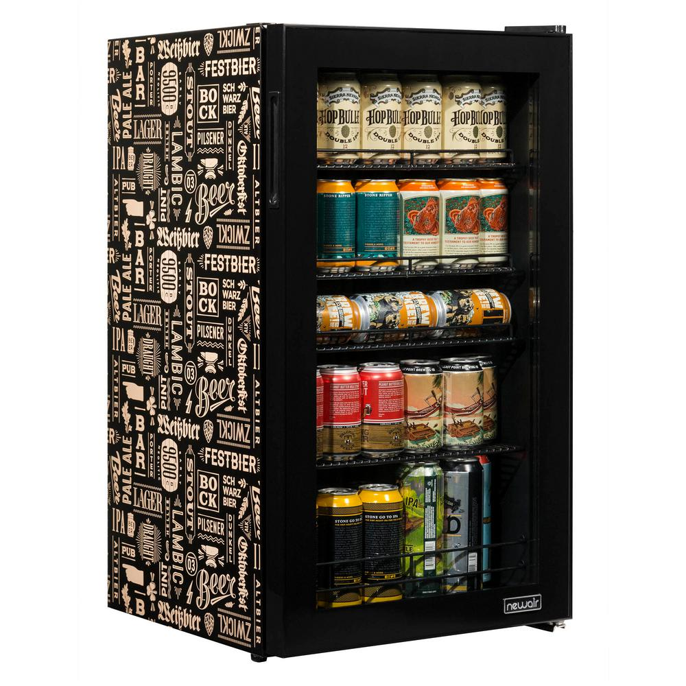 Newair Beers Of The World 19 In 126 12 Oz Can Under Counter And Countertop Freestanding Beverage Cooler Custom Designed