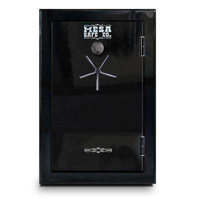 39-Gun Safe 60 Minute Fire Rating Electronic Lock, High Gloss Black