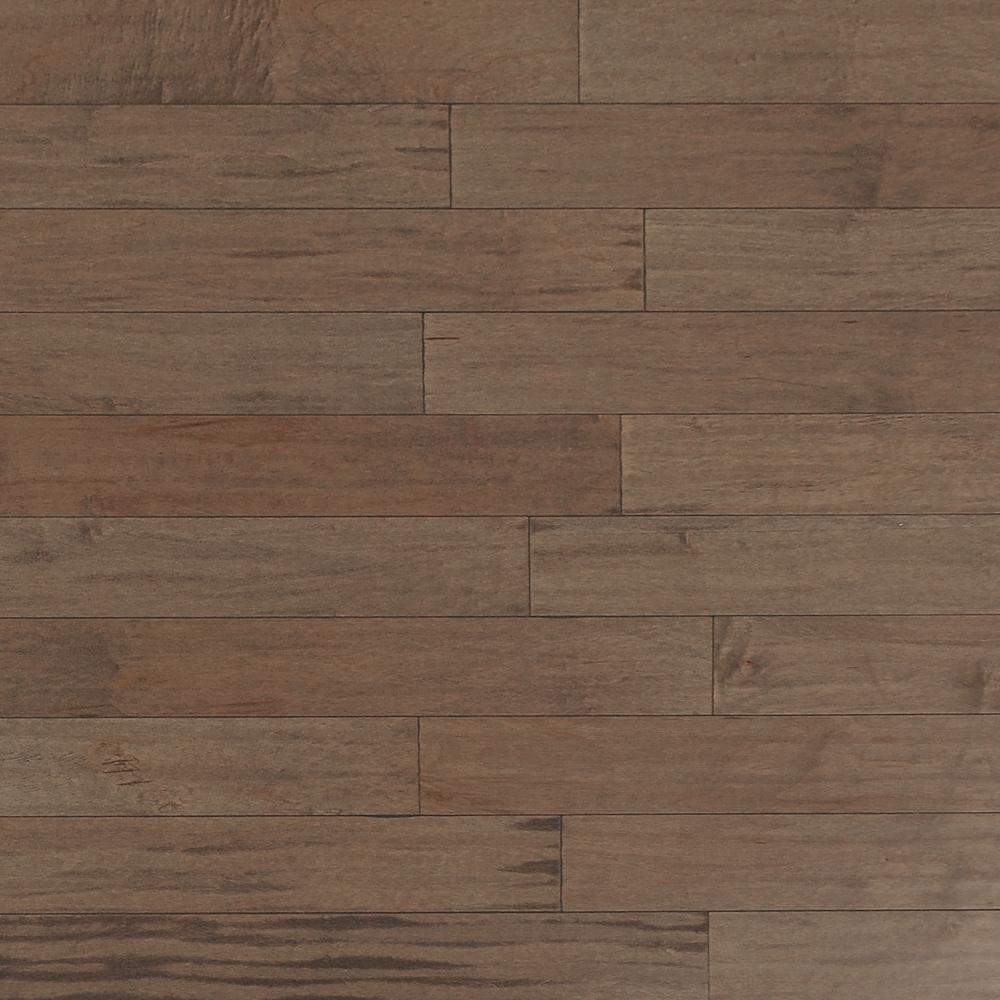 Take Home Sample - Scraped Maple Tranquil Fog Engineered Click Hardwood