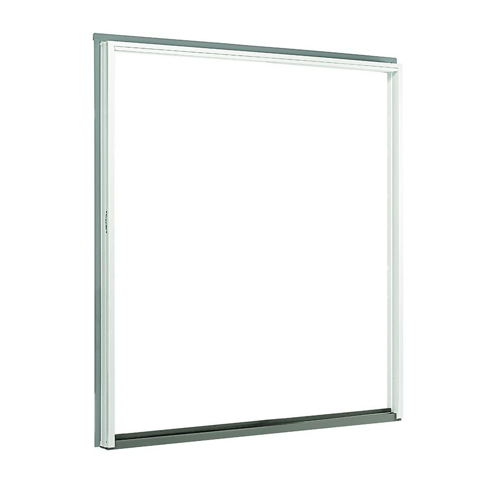Andersen 72 in. x 80 in. 200 Series Perma-Shield Sliding Patio Door White Right-Hand Frame Kit
