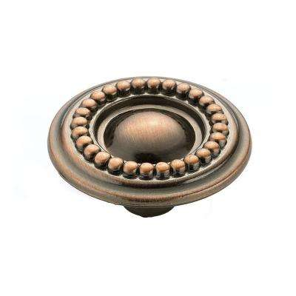 1-1/2 in. (39 mm) Antique Copper Cabinet Knob