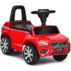 Kids Volvo Licensed Ride On Push Car Toddlers Walker with Horn and Music in Red
