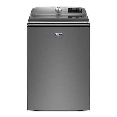 5.3 cu. ft. Smart Capable Metallic Slate Top Load Washing Machine with Extra Power Button, ENERGY STAR