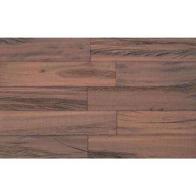 "3D Holey Wood ""50"", 1/4 in. x 5 in. x 24 in. Reclaimed Wood Decorative Wall Planks in Brown Color (10 sq. ft. / Case)"