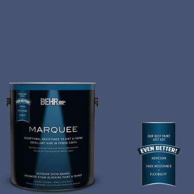 Home Decorators Collection #HDC-WR14-7 Hidden Sapphire Exterior Paint