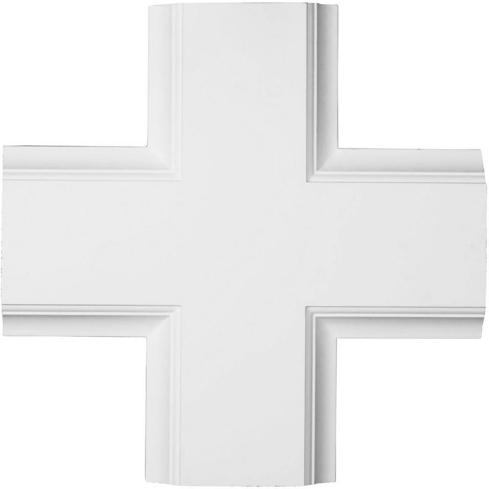 20 in. Inner Cross Intersection for 8 in. Traditional Coffered Ceiling