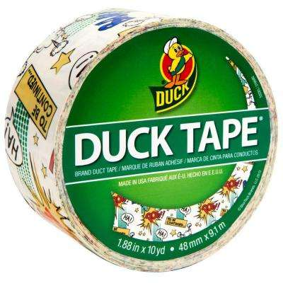 1.88 in. x 10 yds. Comic Book Duct Tape
