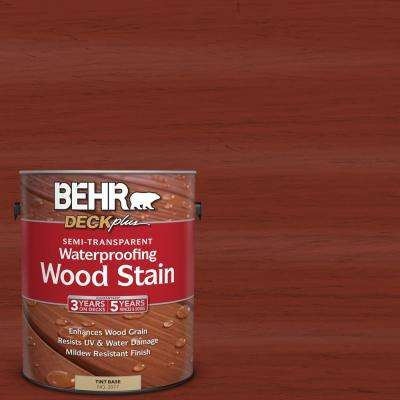 1 gal. #ST-330 Redwood Semi-Transparent Waterproofing Wood Stain