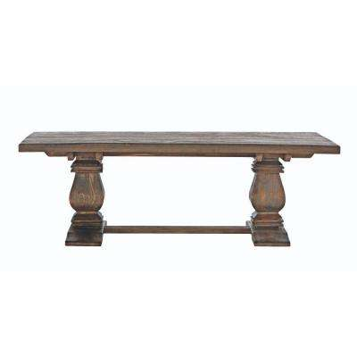 Walnut Living Room Furniture Furniture The Home Depot - Coffee table depth