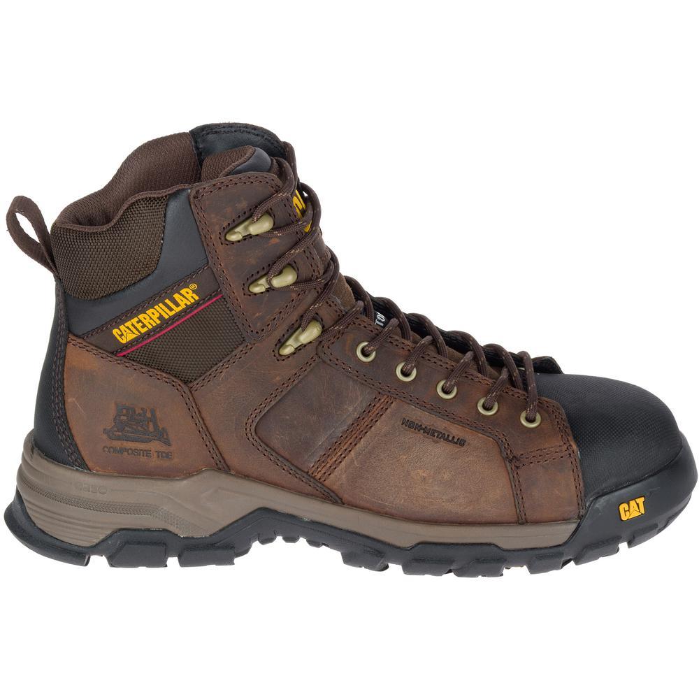 28ea904ed21 Carbondate Men's Size 13W Dark Brown Composite Toe Boots