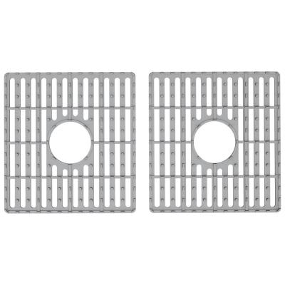 13.25 in. x 14.75 in. Kitchen Sink Silicon Bottom Grid for Double Basin 33 in. Sink