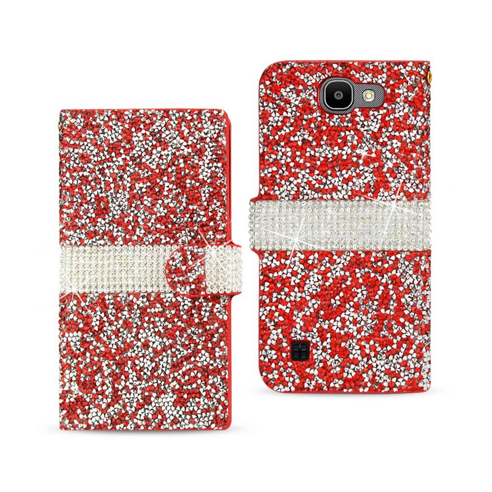 LG Spree Folio Case in Red