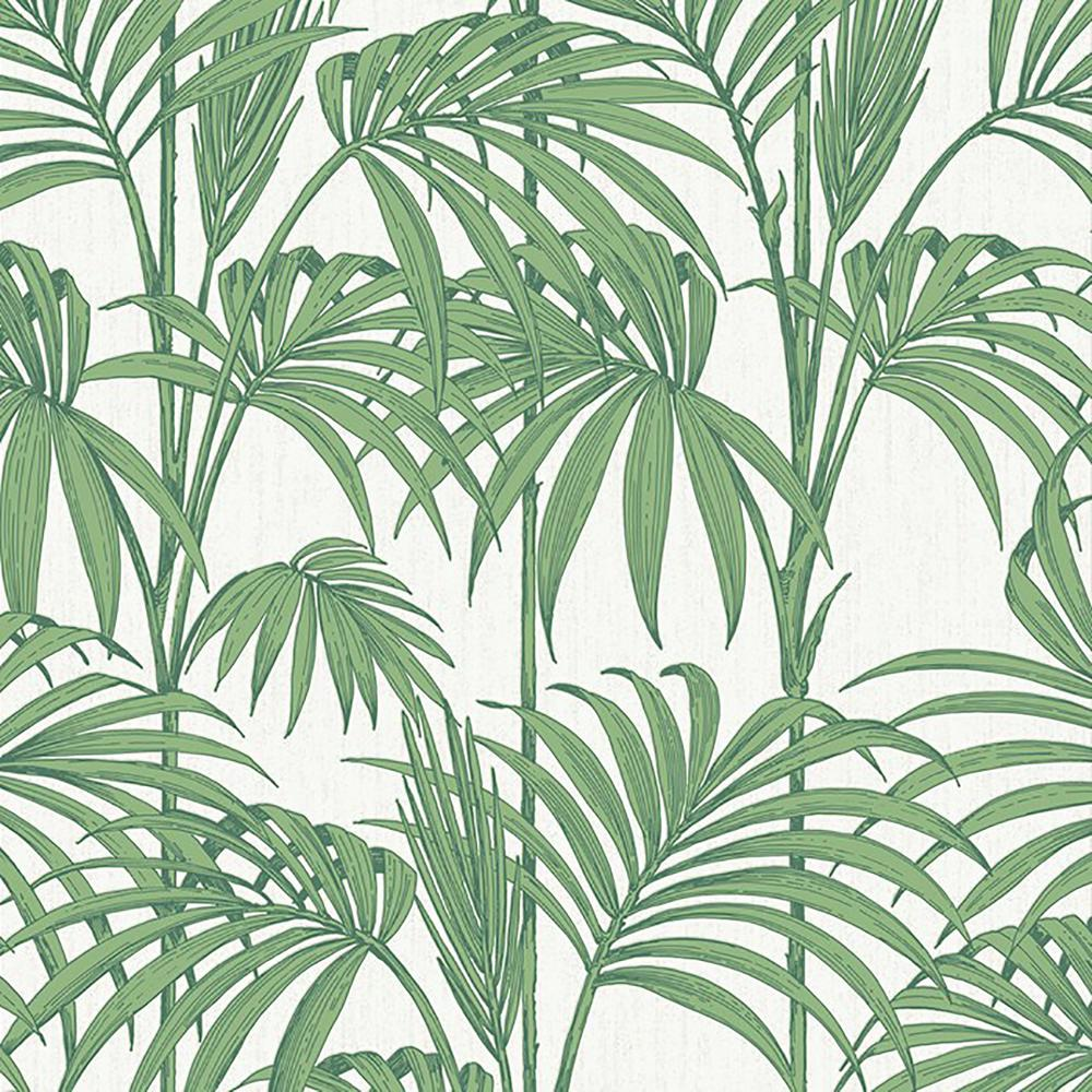 Graham Brown Palm Green Honolulu Removable Wallpaper