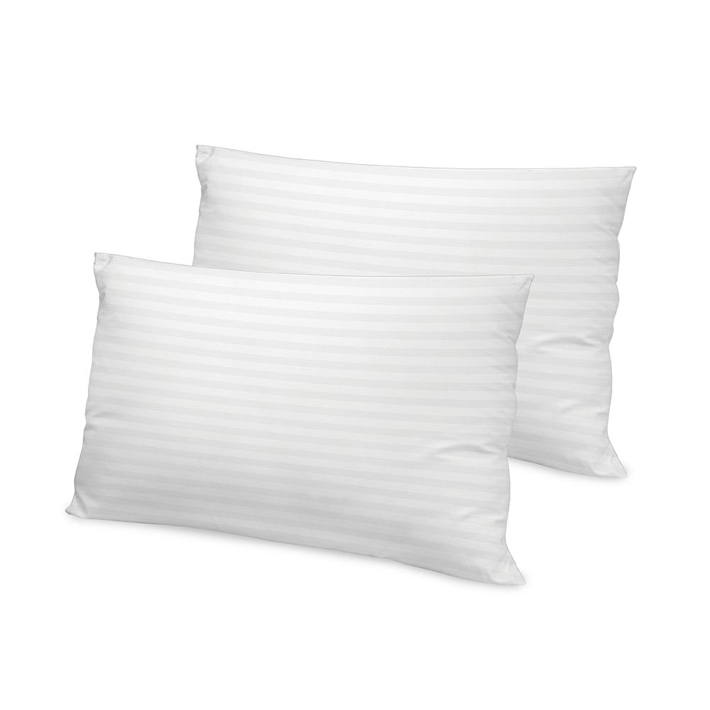 500 Thread Count Tencel Fiber Jumbo Bed Pillow (2-Pack)