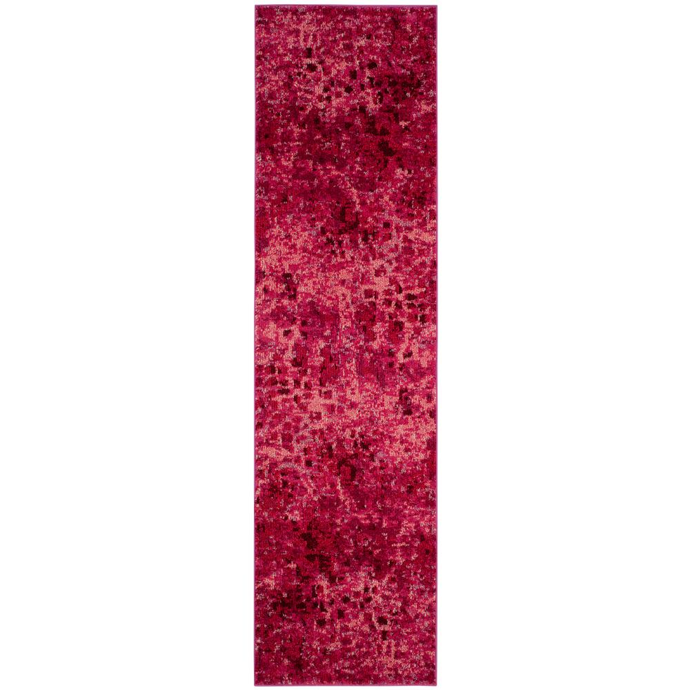 Monaco Fuchsia 2 ft. 2 in. x 8 ft. Runner