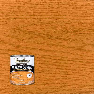 1 qt. Pecan Gloss Oil-Based Interior Polyurethane and Stain