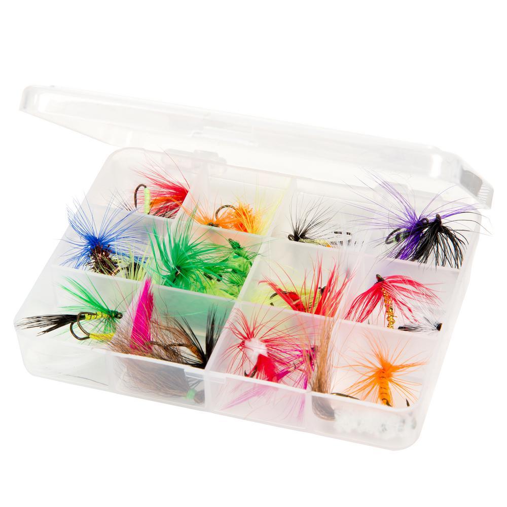 Wakeman Dry Fly Fishing Lure Set (25-Piece)