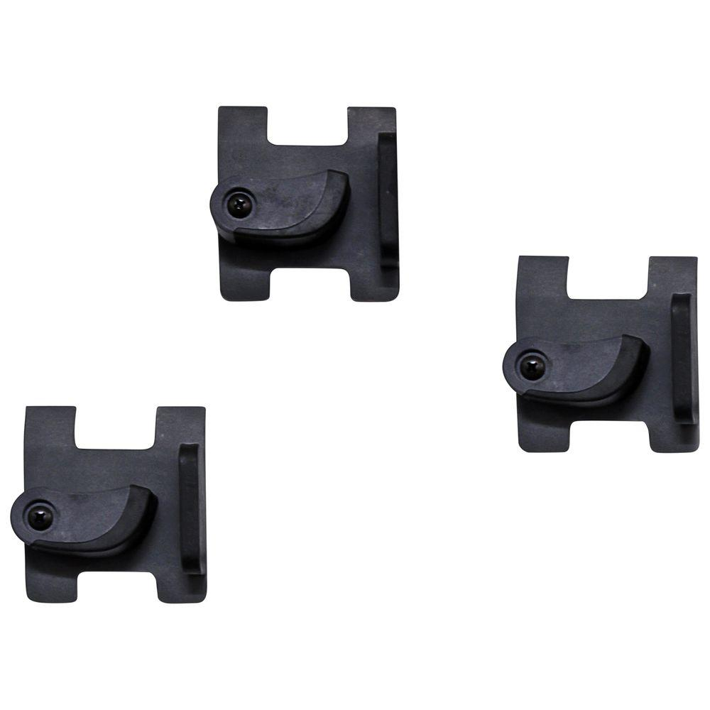 Gray Gravity Storage Hook (3-Pack)