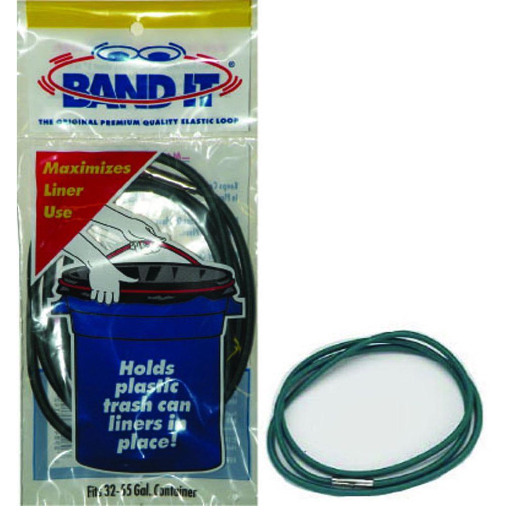 32 to 55 Gallon Band It Elastic Trash Bag Loops (Case