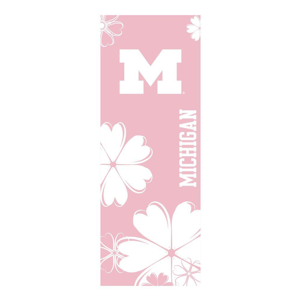 FANMATS University of Michigan 24 in. x 67.5 in. Yoga Mat-DISCONTINUED