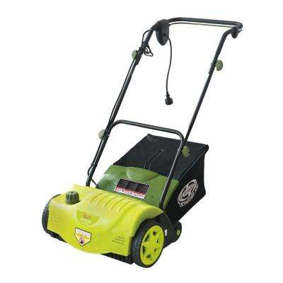 14 in. 11 Amp Electric Dethatcher with Thatch Collection Bag Refurbished