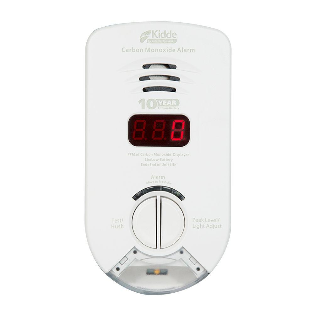 10 Year Worry Free Plug-In CO Alarm for Hallway