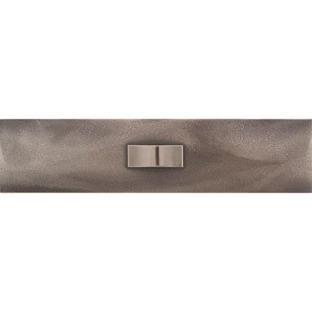 Urban Metals Bronze 3 in. x 12 in. Composite Geo Liner