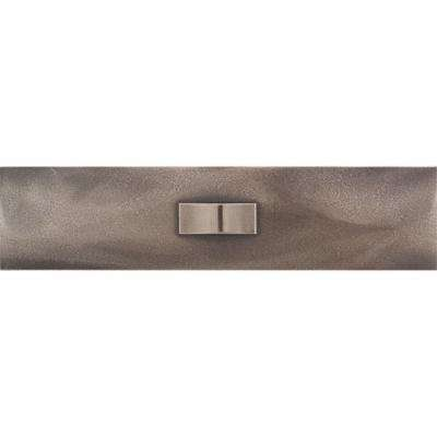 Urban Metals Bronze 3 in. x 12 in. Composite Geo Liner Wall Tile