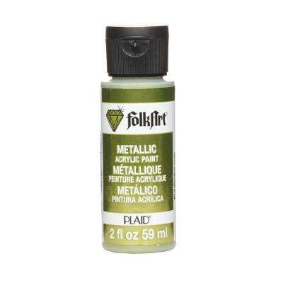 2 oz. Peridot Metallic Craft Paint