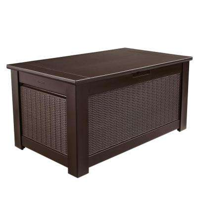 Bridgeport 93 Gal. Resin Storage Bench Deck Box