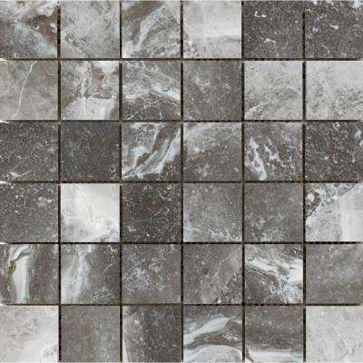 Vienna Strausse 13.07 in. x 13.07 in. x 9mm Porcelain Mesh-Mounted Mosaic Tile