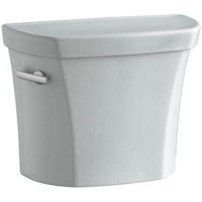 Wellworth 1.6 GPF Toilet Tank Only in Ice Grey
