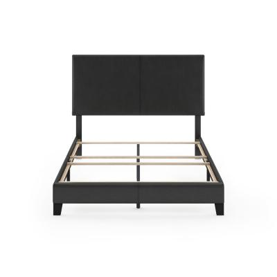 Pessac Black Full Upholstered Bed Frame