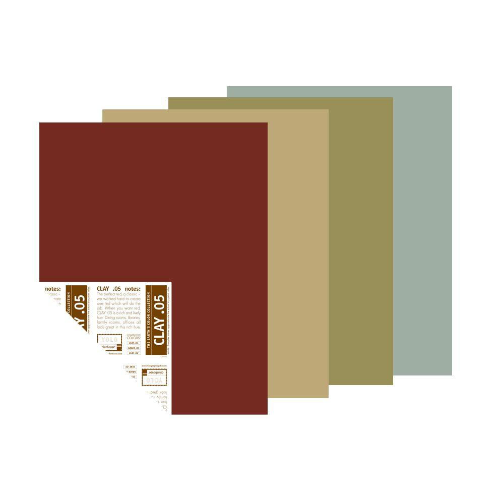 YOLO Colorhouse 12 in. x 16 in. Scout Trend Palette Pre-Painted Big Chip Sample (4-Pack)-DISCONTINUED