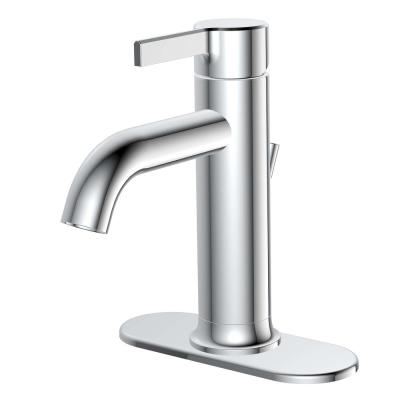 Ryden Single Hole Single-Handle Bathroom Faucet in Chrome