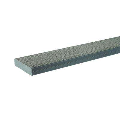 1-1/4 in. x 5.5 in. x 2 ft. DockSider Composite Decking Board Sample in Grey