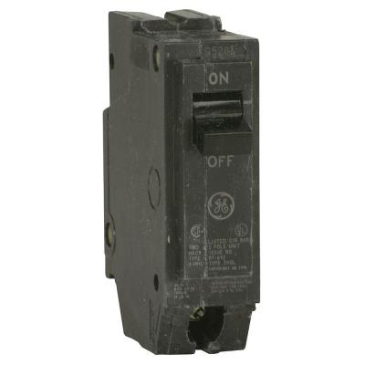 Ge Q Line 15 Amp 1 In Single Pole Circuit Breaker Thql1115 The Home Depot