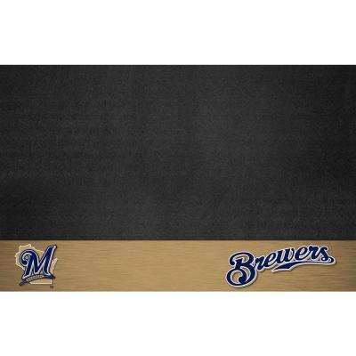 Milwaukee Brewers 26 in. x 42 in. Grill Mat