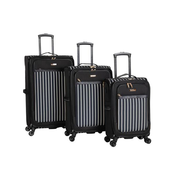 Isaac Mizrahi Ingram 3-Piece Spinner Luggage Set