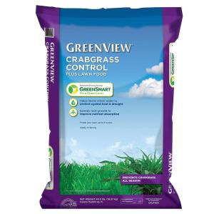 GreenView 40.5 lbs. Crabgrass Control Plus Lawn Food by GreenView
