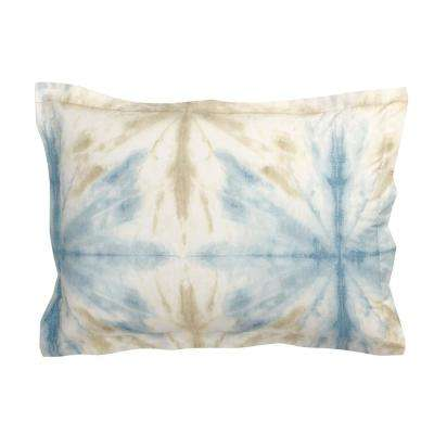 Synergy Tie-Dye Organic Cotton Percale King Sham
