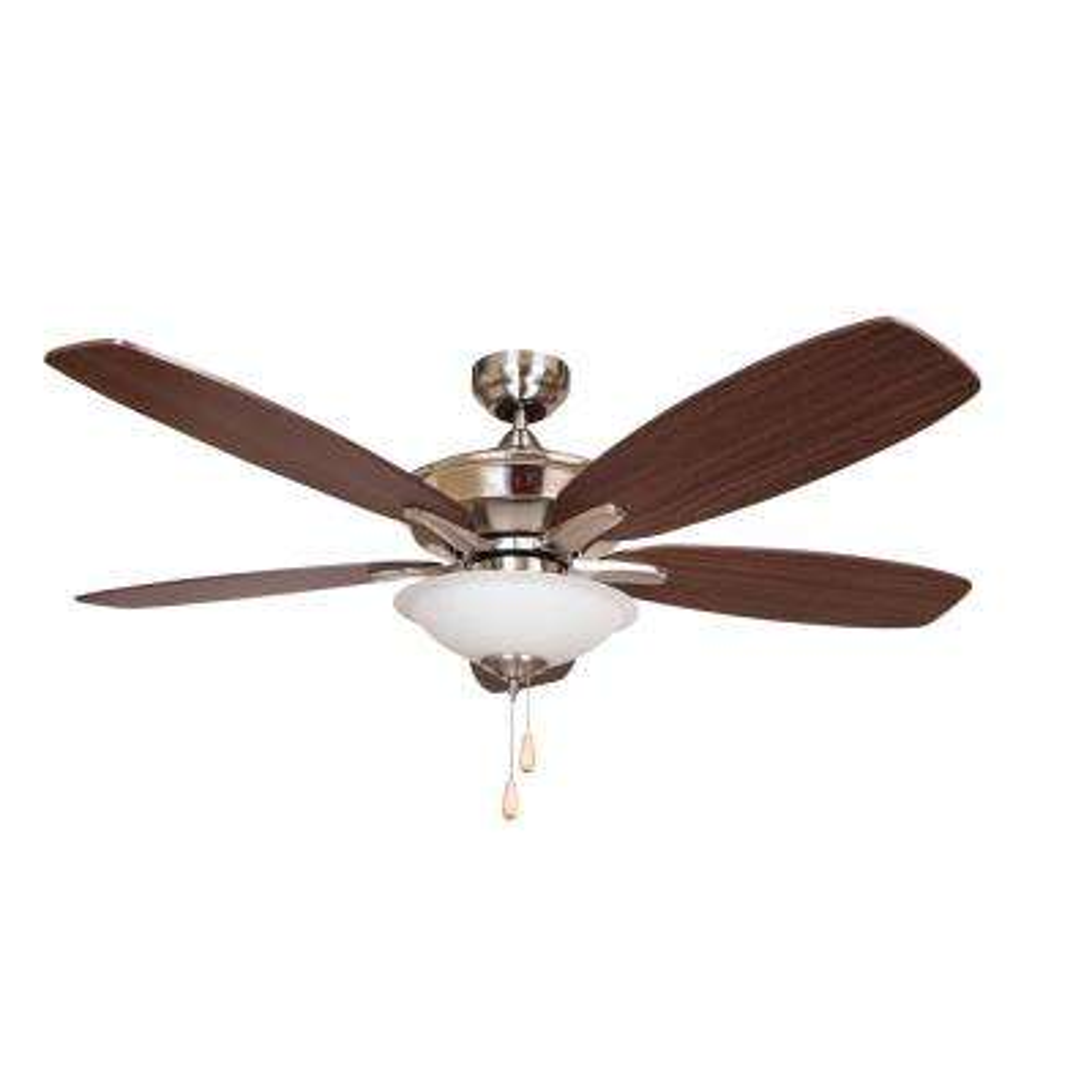 ALEXIS 52 in. Brushed Nickel Ceiling Fan