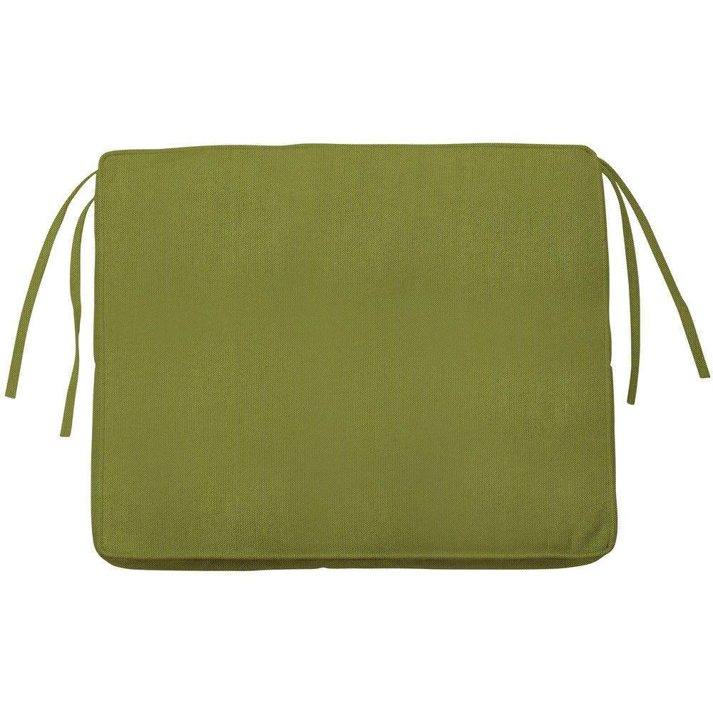 Home Decorators Collection Sunbrella Cilantro Rectangular Outdoor Seat Cushion