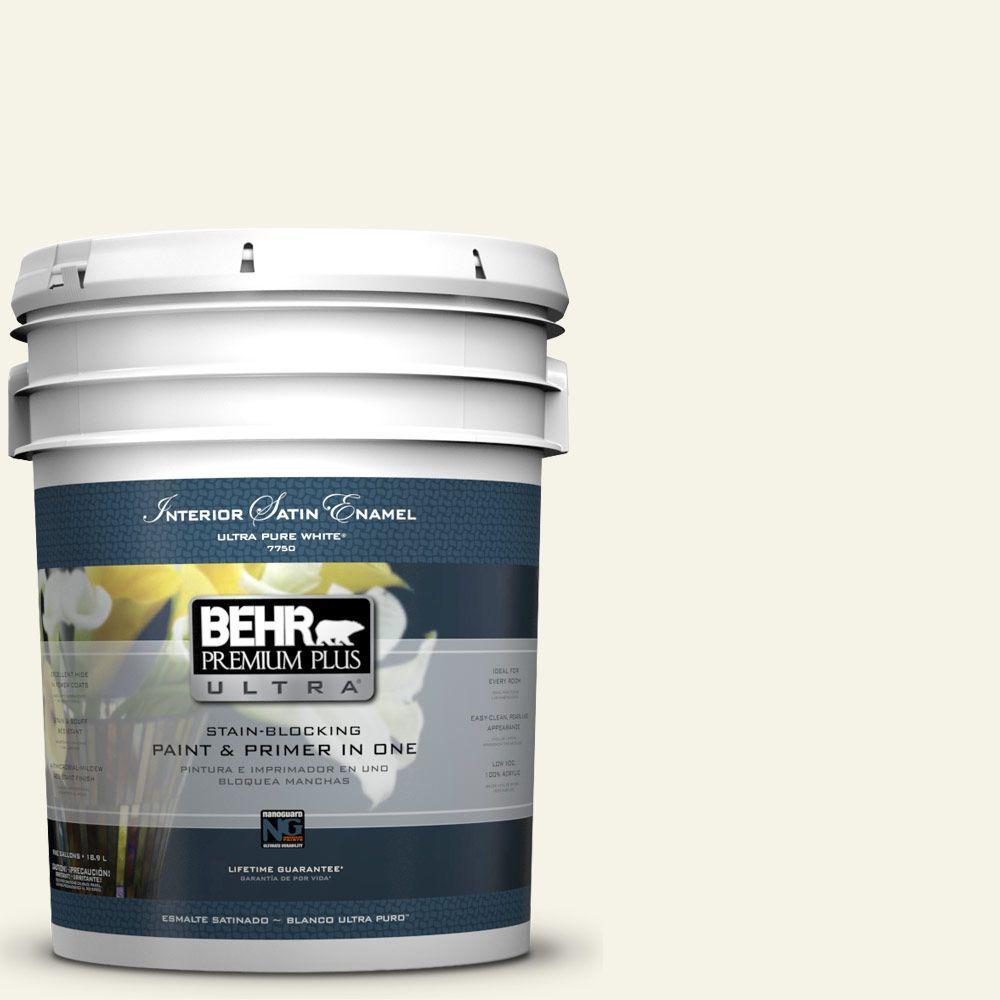 5-gal. #BWC-04 Beach House Satin Enamel Interior Paint