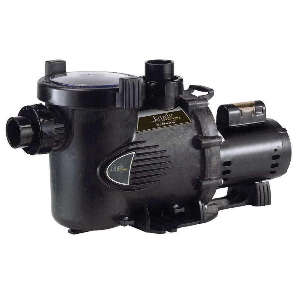Stealth 2 HP Single Speed High Head Pool Pump