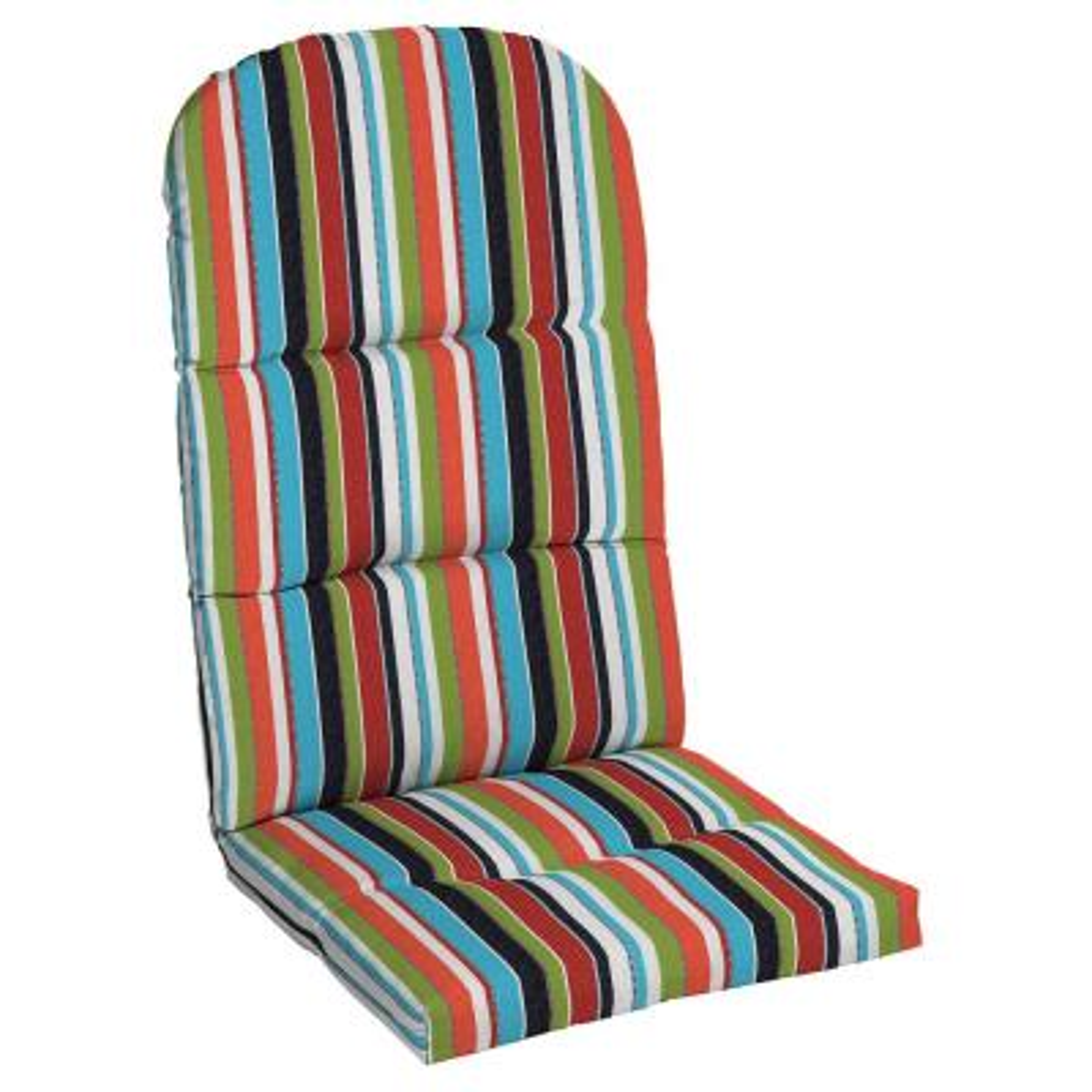 20.5 x 49 Sunbrella Carousel Confetti Outdoor Adirondack Chair Cushion