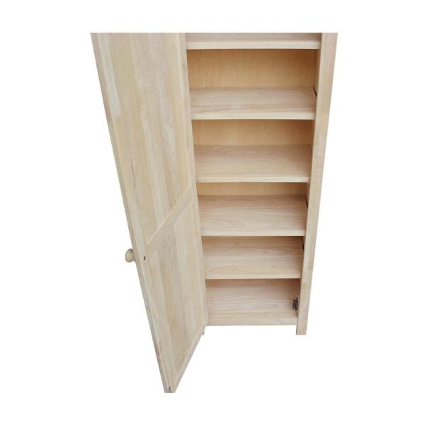 Solid Parawood Storage Cabinet